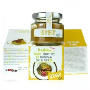 Condiment BOMBAY cu cocos bio (40 grame), Kulau