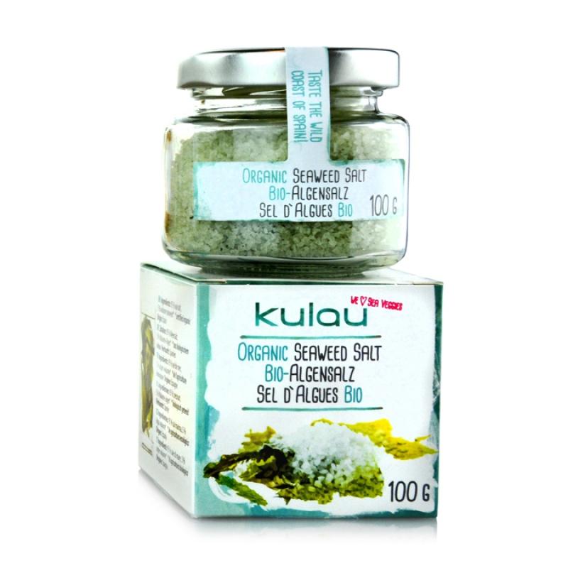 Condiment sare de mare cu alge marine bio (100 grame), Kukau
