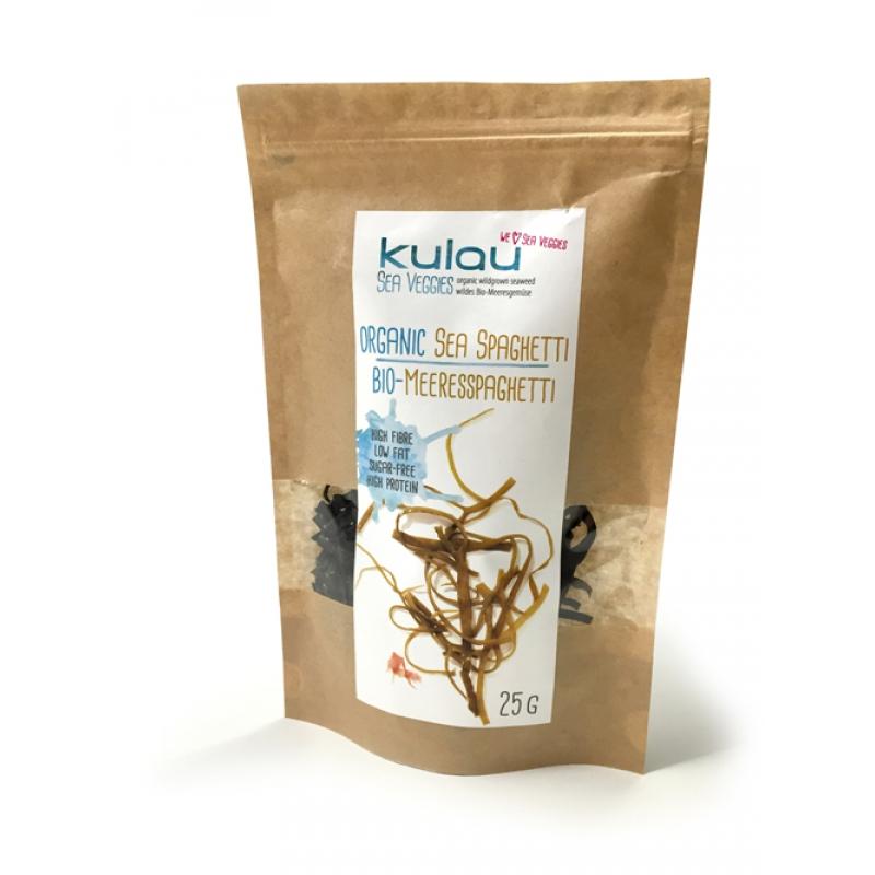 Alge sea spaghetti bio (25 grame), Kulau