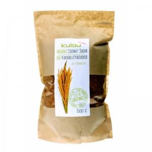 Zahar din nectar de flori de cocos bio (1 kg), Kulau