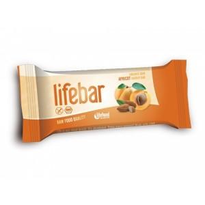 Baton cu caise raw bio (47g), Lifebar