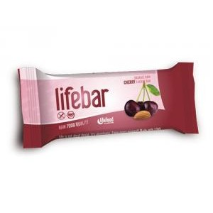 Baton cu cirese raw bio (47g), Lifebar
