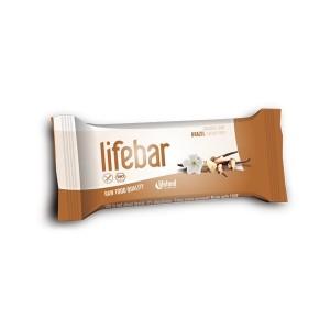 Baton cu nuci braziliene raw bio (47g), Lifebar