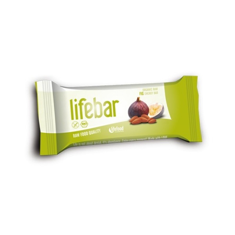 Baton cu smochine raw bio (47g), Lifebar