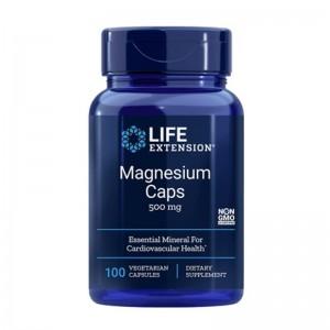 Magneziu 500 mg (100 capsule), LifeExttension