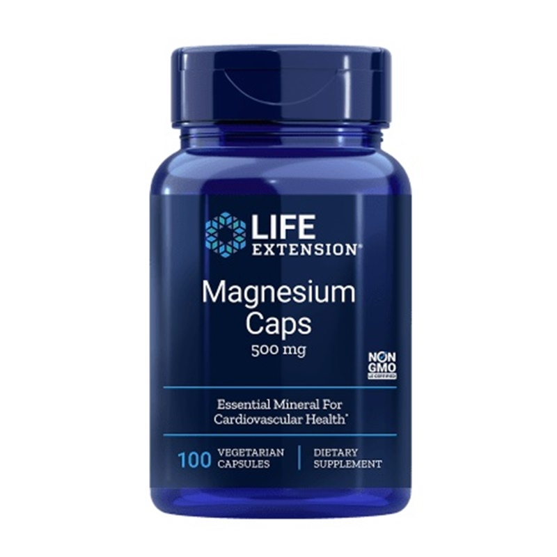 Magneziu 500 mg (100 capsule), LifeExttension