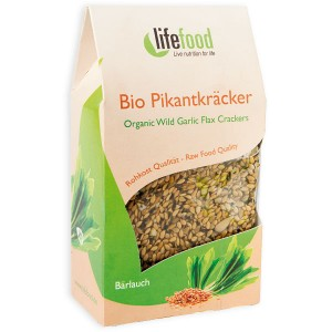Crackers cu leurda raw bio (90g), Lifefood