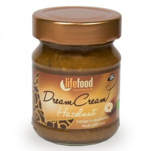 Crema raw dream cream cu alune de padure luxurious bio (150g), Lifefood