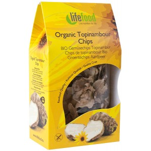 Chips din topinambur raw bio (30 grame), Lifefood