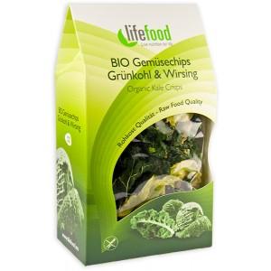 Chips din kale raw bio (20 grame)