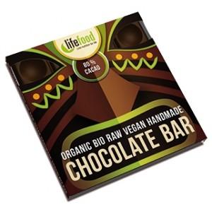 Ciocolata cu 80% cacao raw bio (35 grame), Lifefood