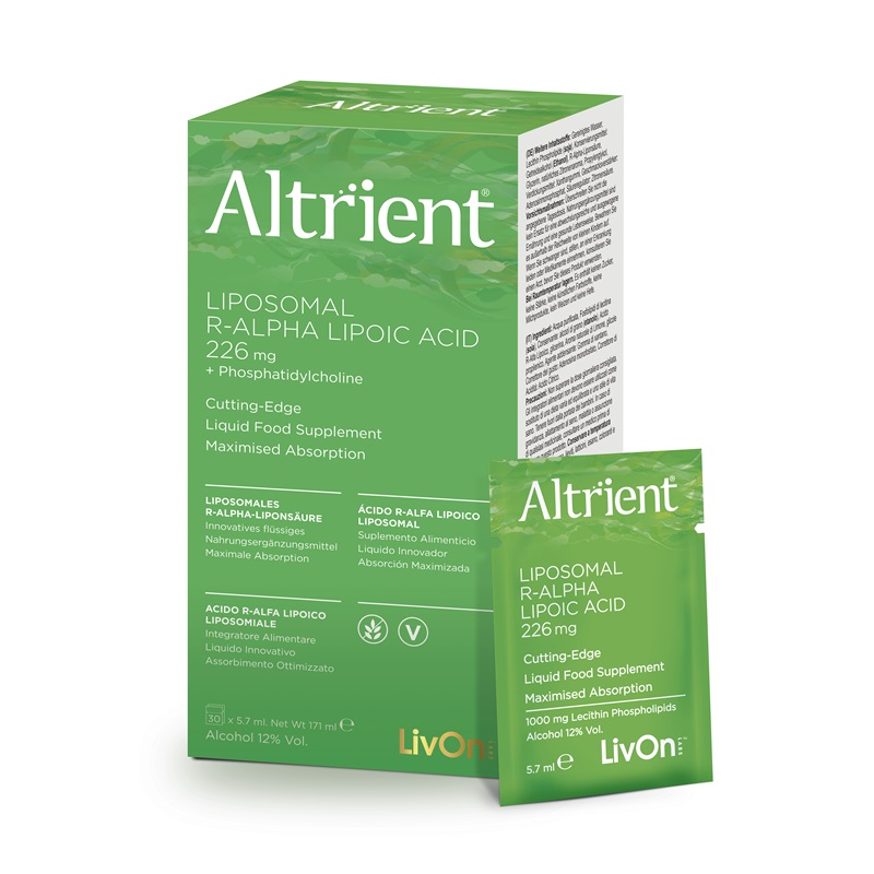 Altrient Acid Alfa Lipoic Lipozomal (30 pliculete), LivOn Labs