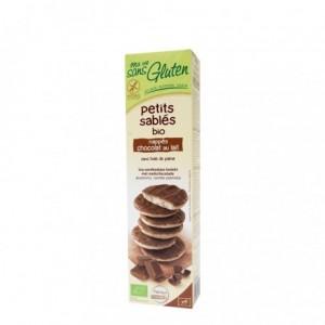 Biscuiti fara gluten inveliti cu ciocolata cu lapte (150 grame), Ma Vie Sans Gluten