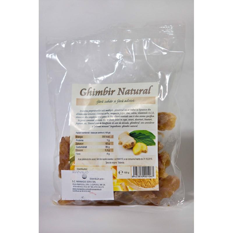 Ghimbir bucati (150 grame), Deco Italia