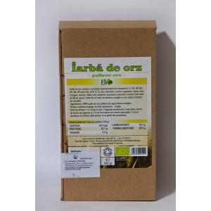Iarba de orz bio pudra (125g), Deco Italia
