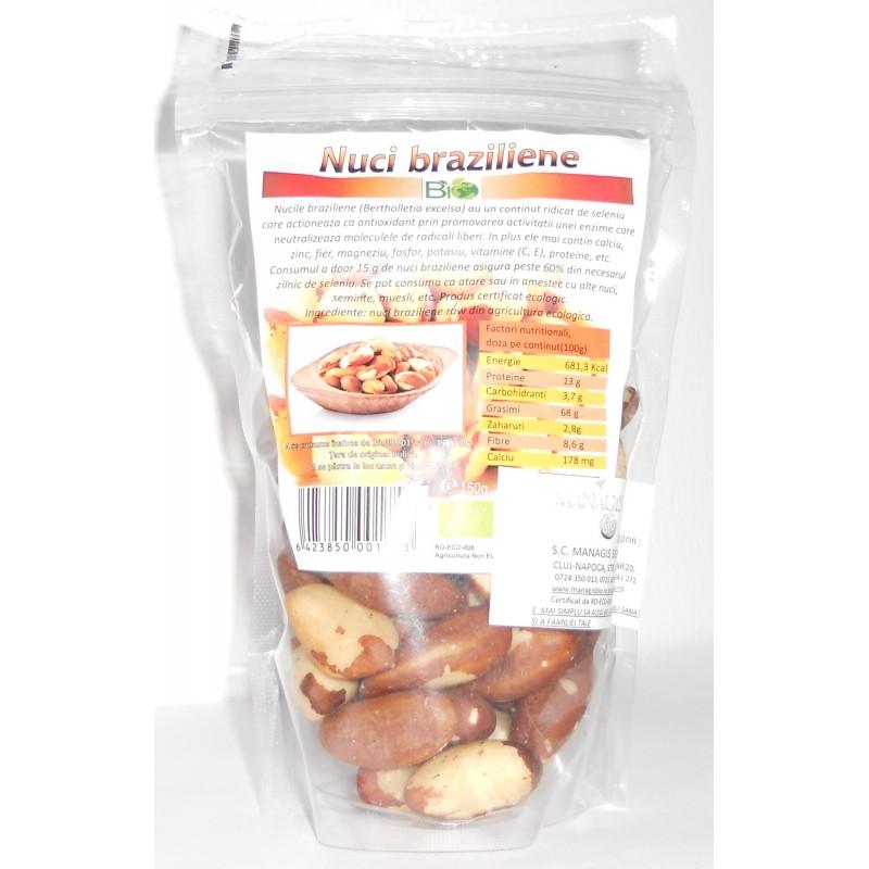 Nuci Braziliene Bio (150 grame), Deco Italia