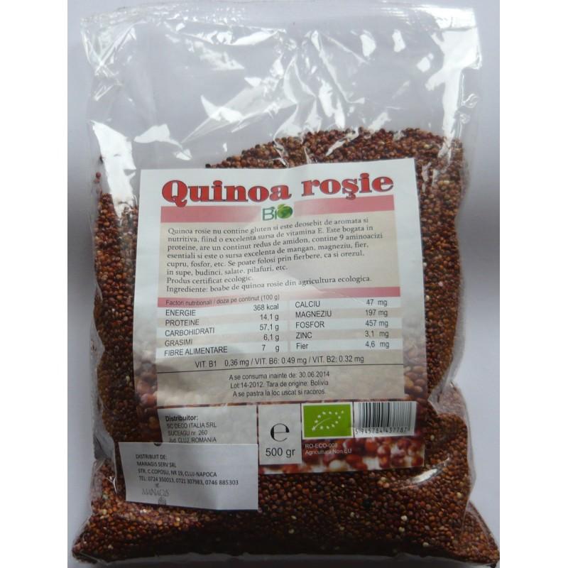 Quinoa rosie (500 grame), Deco Italia