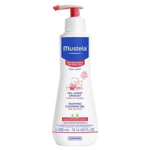 Gel curatator calmant pentru piele sensibila (300 ml), Mustela