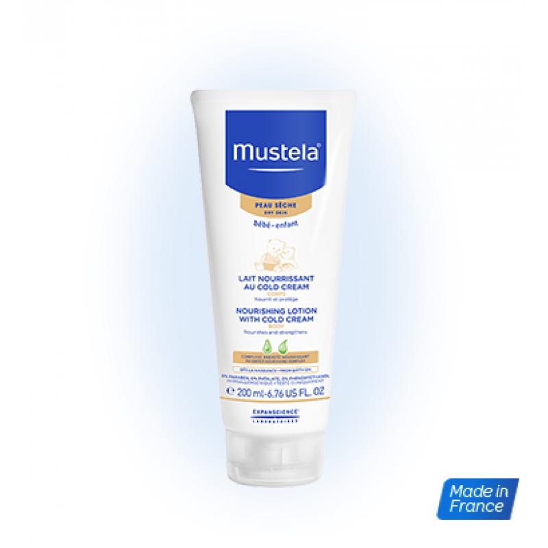 Lotiune nutritiva cu cold cream (200 ml), Mustela