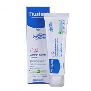 Vitamin barrier 123 - crema pentru schimbatul scutecului (50ml), Mustela