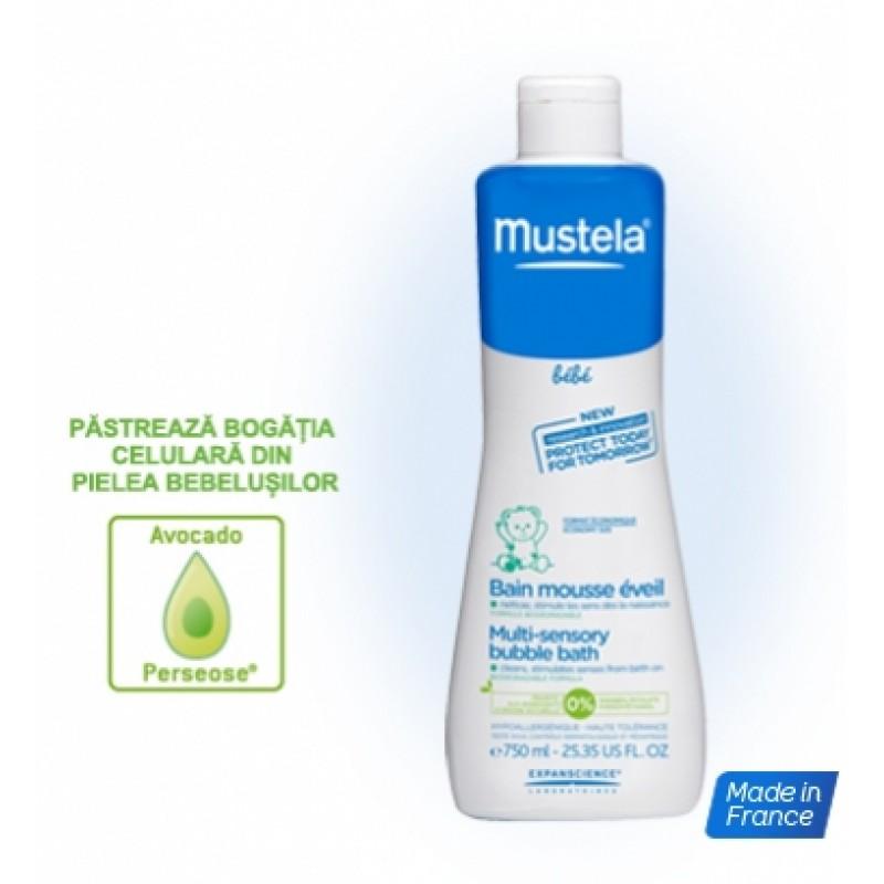 Spuma pentru baie energizanta (750 ml), Mustela