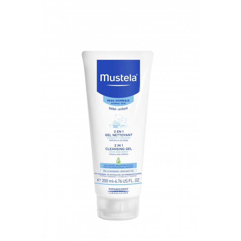 2 in 1 Par si Corp (200 ml), Mustela