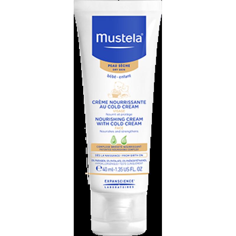 Crema nutritiva cu cold cream (40ml), Mustela