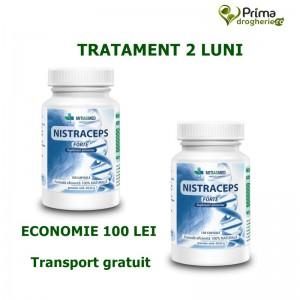 Pachet 2 x Nistraceps Forte ( 2 x 150 capsule), Mitiasmed
