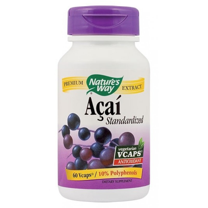 Acai SE 520mg (60 capsule), Nature's Way