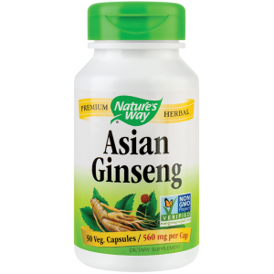 Ginseng Korean (50 capsule), Nature's Way