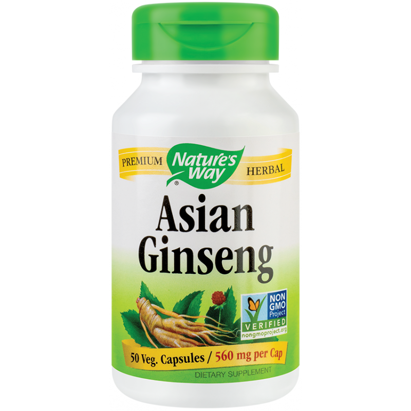 Ginseng Korean (50 capsule), Nature's Way