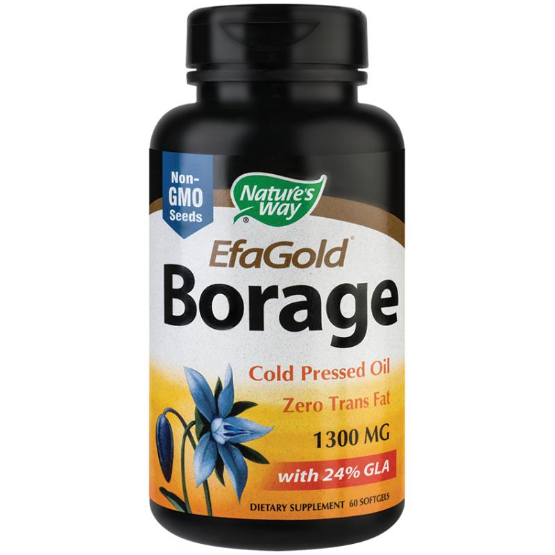 Borage 1300mg EfaGold (60 capsule), Nature's Way