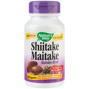 Shiitake Maitake SE (60 capsule), Nature's Way