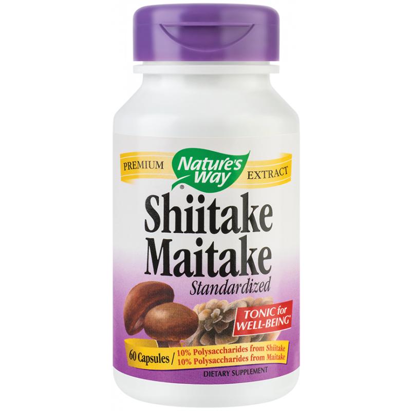 Shiitake Maitake SE (60 capsule), Nature's Way