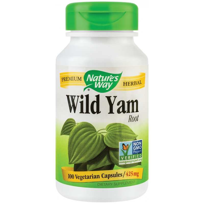 Wild Yam (100 capsule), Nature's Way