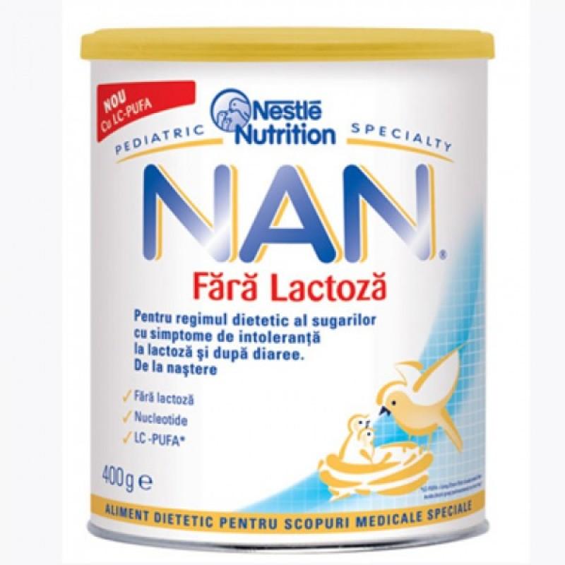 Lapte NAN fara lactoza (400g)