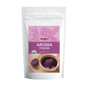 Aronia pudra raw bio (200 grame), Dragon Superfoods