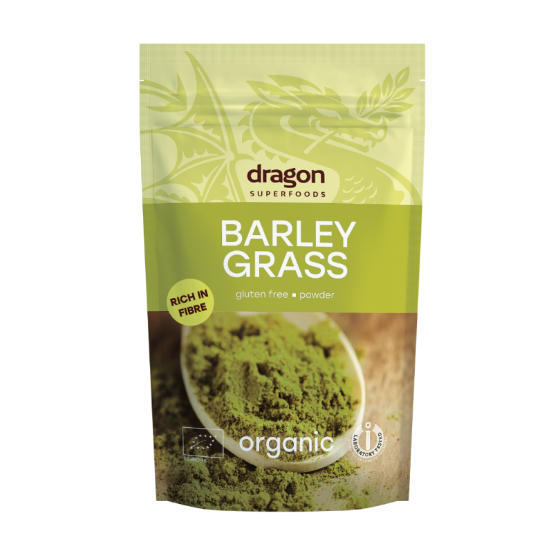 Orz verde pulbere bio (150 grame), Dragon Superfoods
