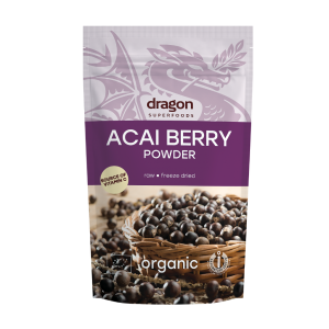Acai pulbere bio (100g), Dragon Superfoods