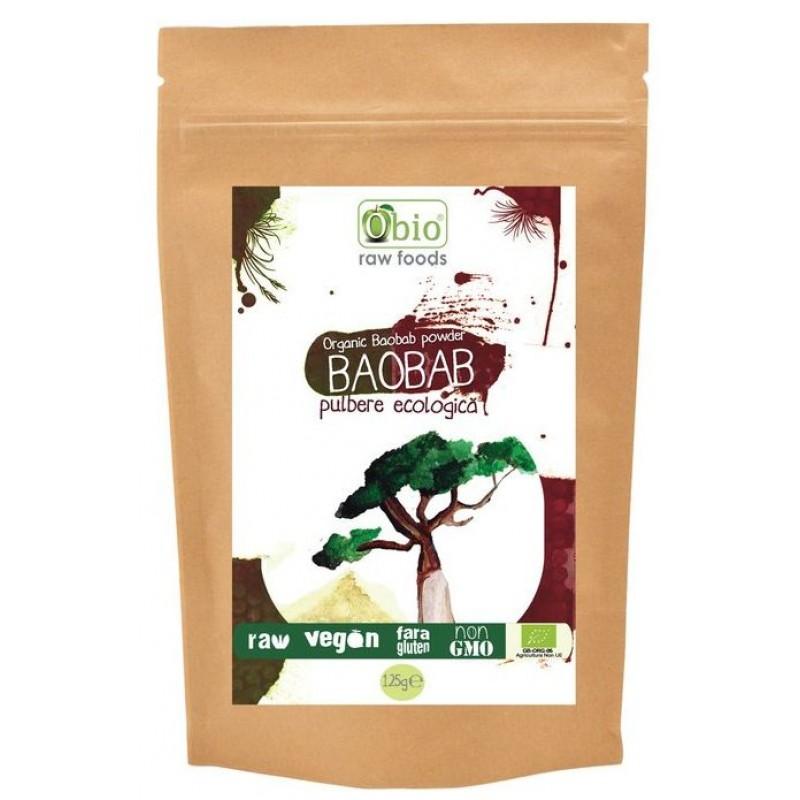 Baobab pulbere raw (125 g), Obio