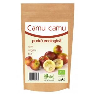 Camu camu pulbere raw bio (60g), Obio