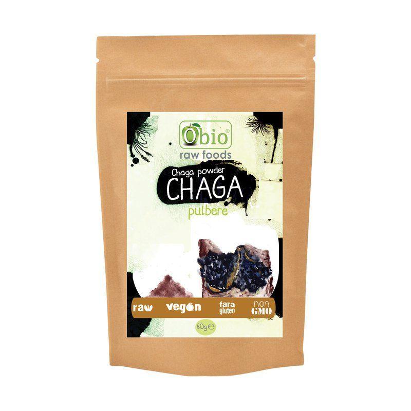 Chaga pulbere (60g), Obio