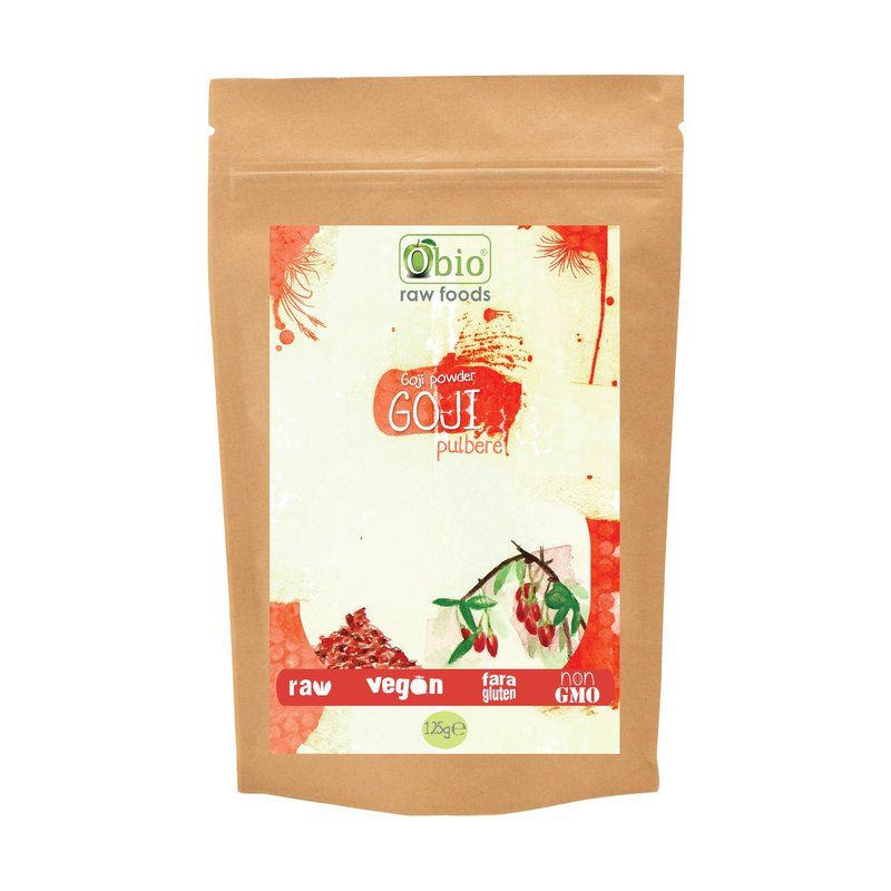 Goji pulbere raw (125g), Obio