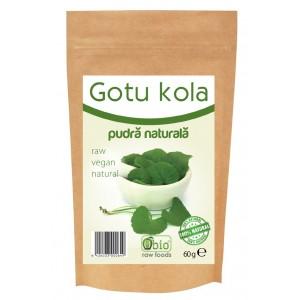 Gotu kola pulbere raw (60 grame), Obio