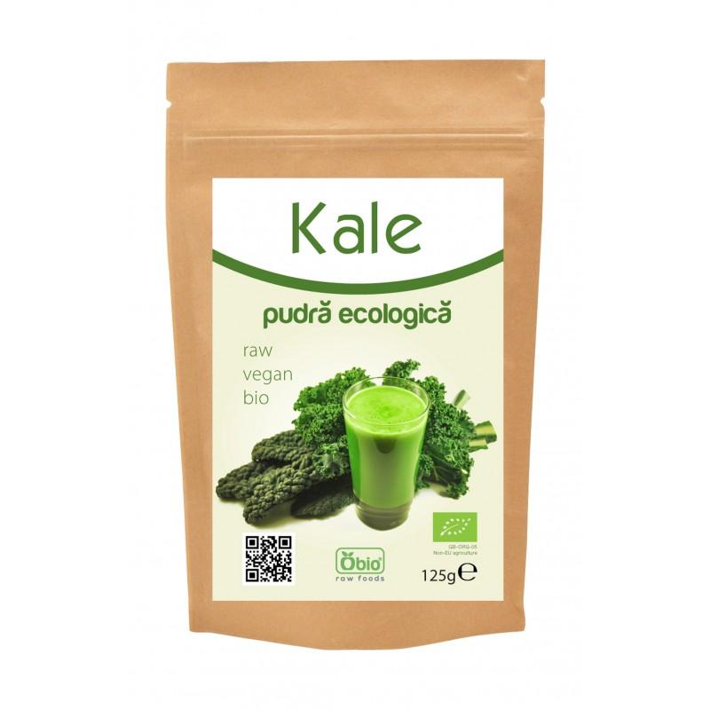 Kale pudra bio (125 grame), Obio