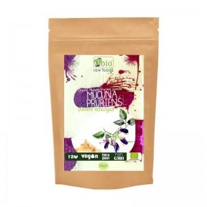 Mucuna pruriens pudra raw bio (125g), Obio