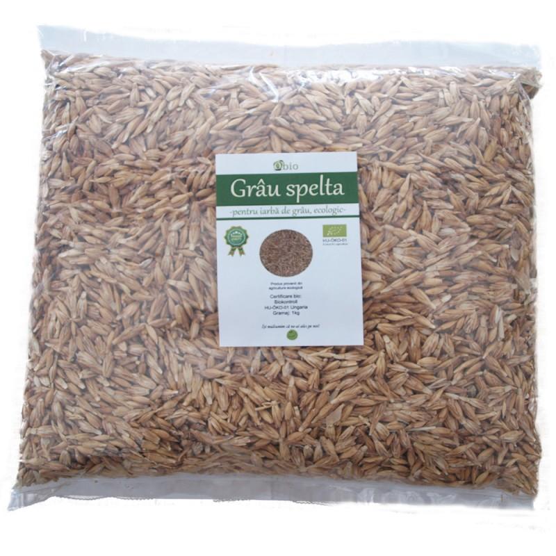 Grau spelta pentru iarba de grau bio (1kg), obio
