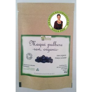 Maqui pulbere raw (60g)