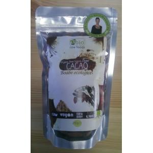 Boabe de cacao intregi bio (250 grame)
