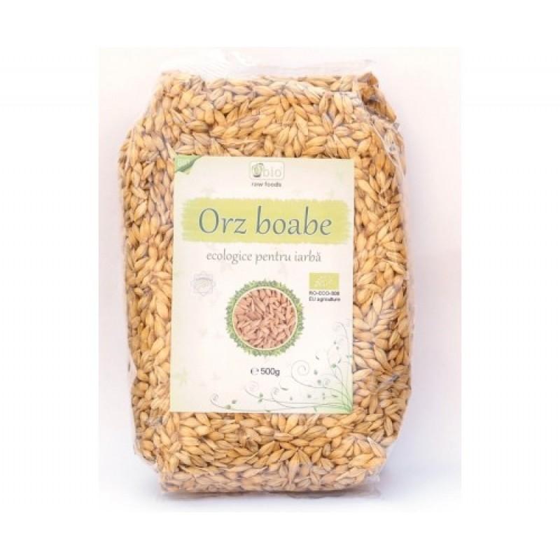 Orz boabe pentru iarba de orz bio (500g), Obio